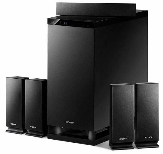 Sony Ht As5 3d Surround System 02