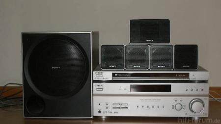 Sony Receiver Str K785 Und Dvd Dvp Ns78h Heimkino Kompletts