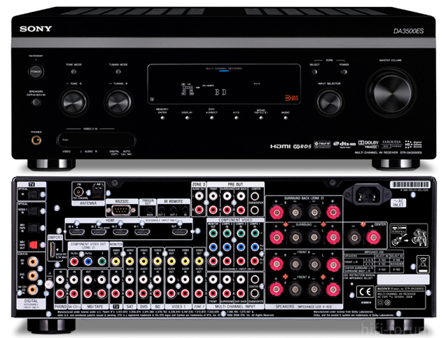 Sony Str Da3500es