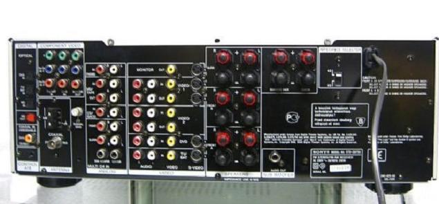 SONY STR DB 790 REAR
