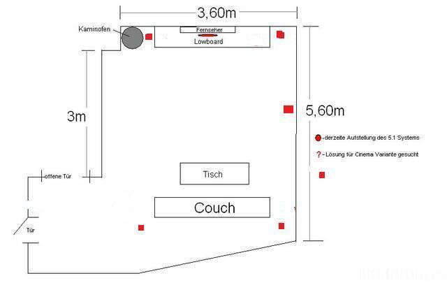 Wohnzimmer Skizze 108319 2