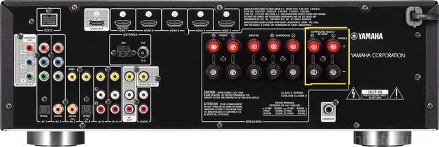 Yamaha Rx V571 REAR 2