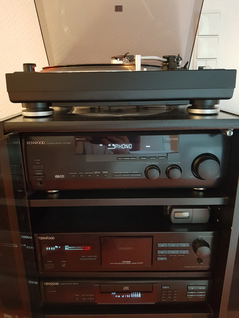 Heim-audio & Hifi Begeistert Kenwood Dp-5050 Cd-player