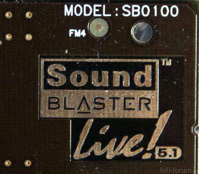 Soundblaster Live
