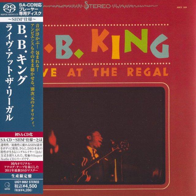 B.B. King Live At The Regal SHM-SACD