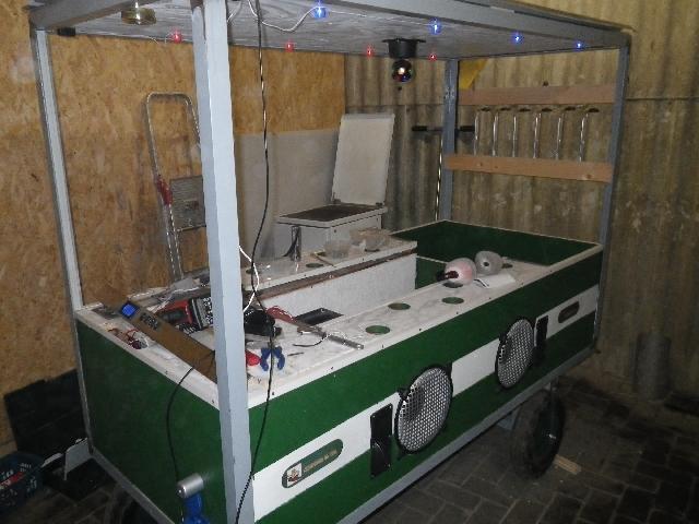 Bollerwagen die x te dr cken im gesicht sonstiges for Cocktailbar selber bauen
