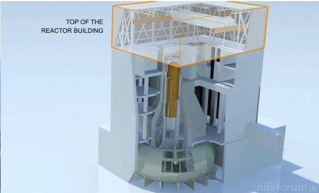 Fukushima Reaktorgebäude