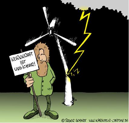 Kernkraft Ist Unsicher
