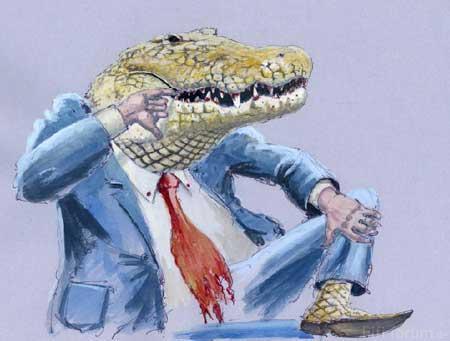 Krokodilchef