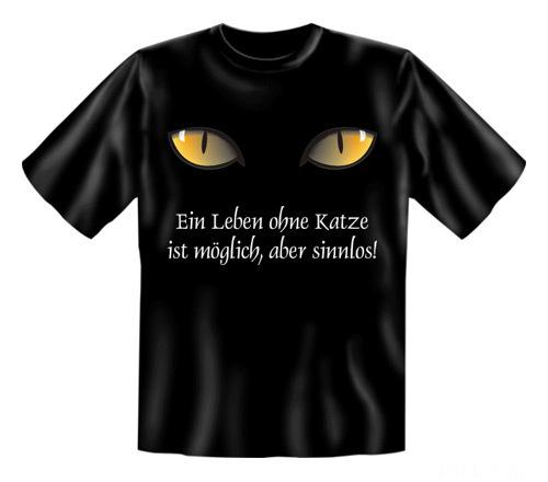 Leben Ohne Katze Sinnlos-Shirt