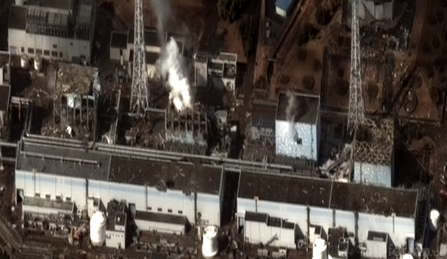 Sicht Auf Fukushima Powerplants