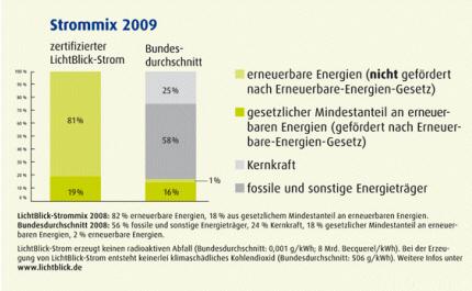 Strommix 2008