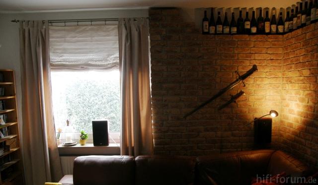 Wohnzimmer-Rücken