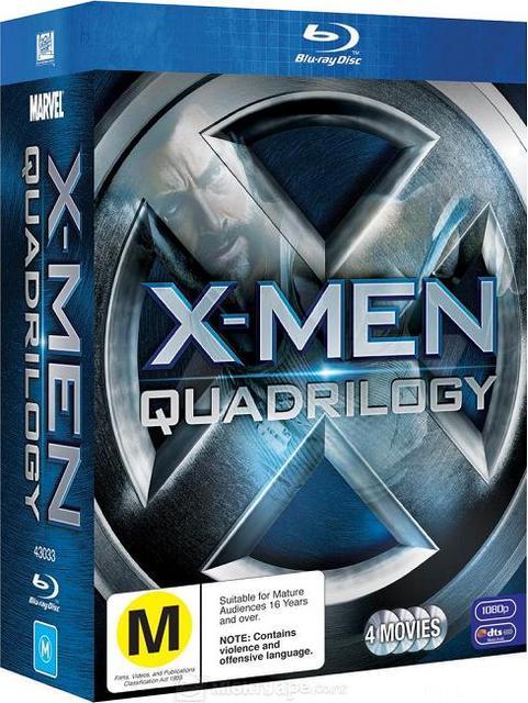 X-Men 1-4