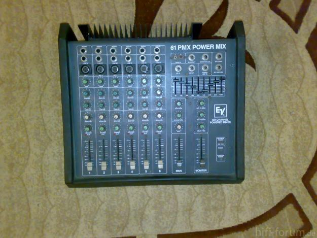 1321463525 206967555 1 Fotografii De  Vand Mixer Electro Voice Powered Mixer 6 Channel 61 Pmx Power