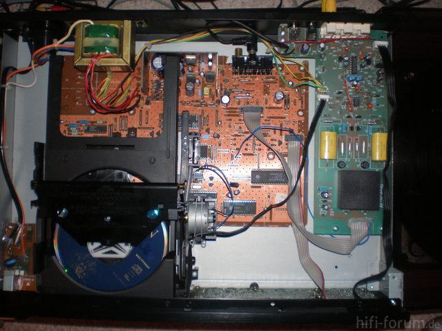Innenleben AR CD-06SE