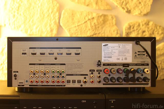 Samsung HW D700 Back