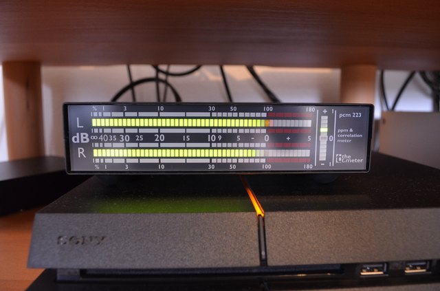 The T.meter PCM 223 Stereo Peakmeter