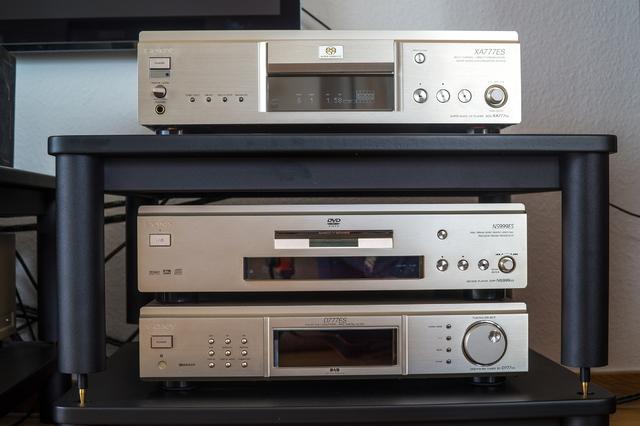 SCD, DVD, Tuner