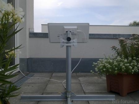 Selfsat Auf Dachterasse 2