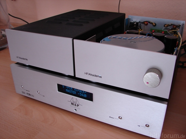 2xhifiakademie PowerAmp Und Audionet Map V2...