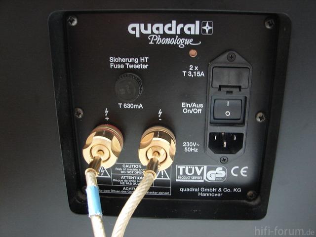 Anschlußterminal Mit 6mm² Kabel