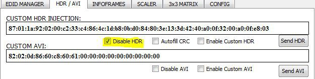 disableHDR