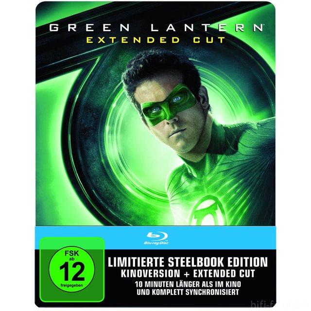 Green Lantern Extended Steelbook