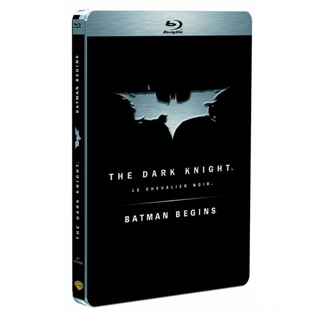Steelbook Batman Begins / The Dark Knight