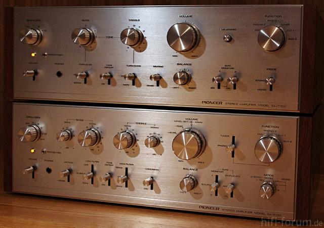 Pioneer SA-9100 + SA-7100