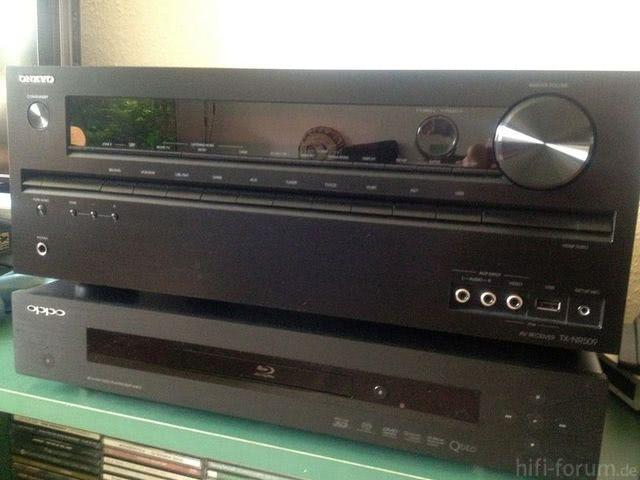 Onkyo TX-NR509 Auf Oppo 93EU
