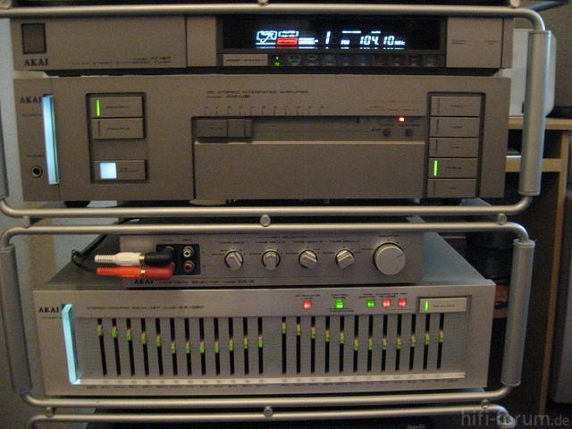 Akai AT-S7, AM-U61, DS-5, EA-G90