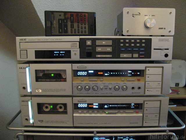 Akai CD-A7, GX-F51, GX-F71