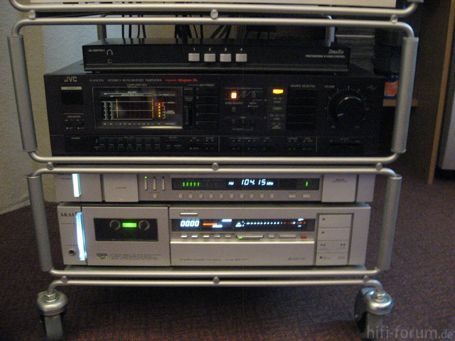 Speaka Connect, JVC A-X500V, AT-S61, GX-F71
