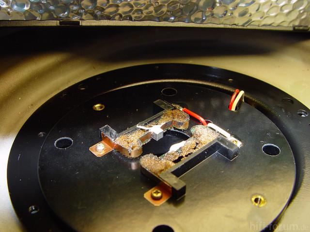 Kohlen Sony PS 4750 Motor