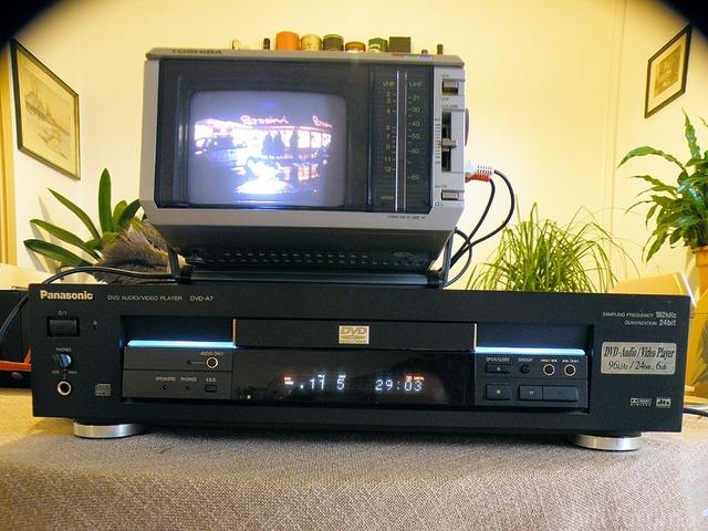 Panasonic DVD-A7 An Toshiba C-500