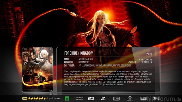 Forbidden Kingdom Mkv Sheet