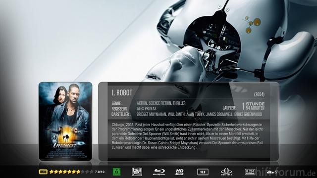 I, Robot Mkv Sheet