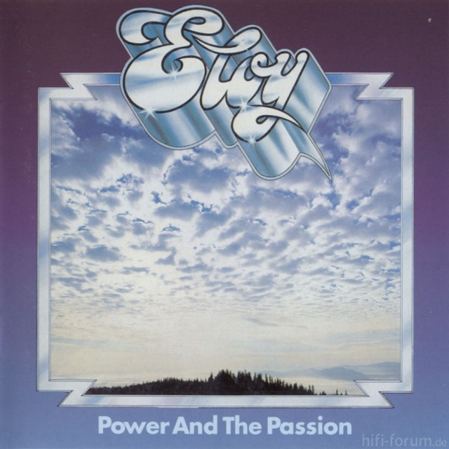 Eloy   Power And The Passion   Front
