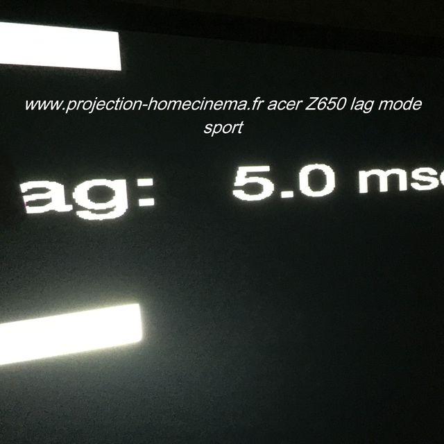 lag sport mode acer z650