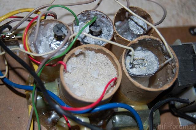 Austausch Der Condensatoren