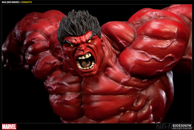 Sideshow Collectibles Red Hulk Sideshow Store Exclusive Statue