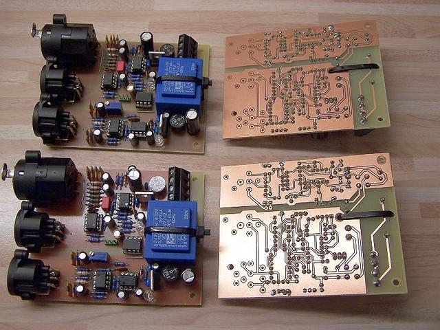 DI Box, 8Kanal, optoelektronisch, vollgalvanisiert, Elektronik ...