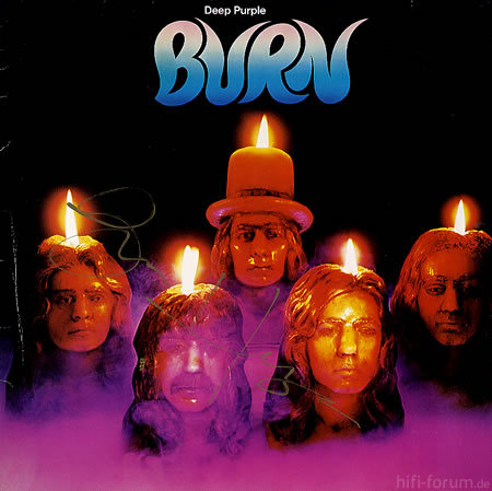 Deep Purple Burn   AUTOGRAPHE 319148