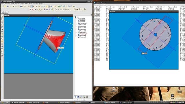 3D-Modell Des Hornes(rund)