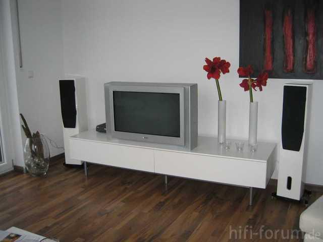 Mein TV Bereich Im Wohnzimmer (40m²)