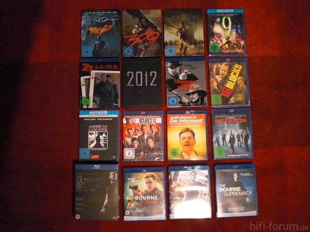Blu Ray Sammlung