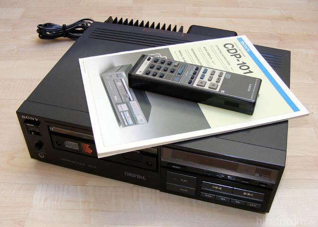Sony Cdp 101 8