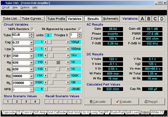 Ecc88 Srpp Daten