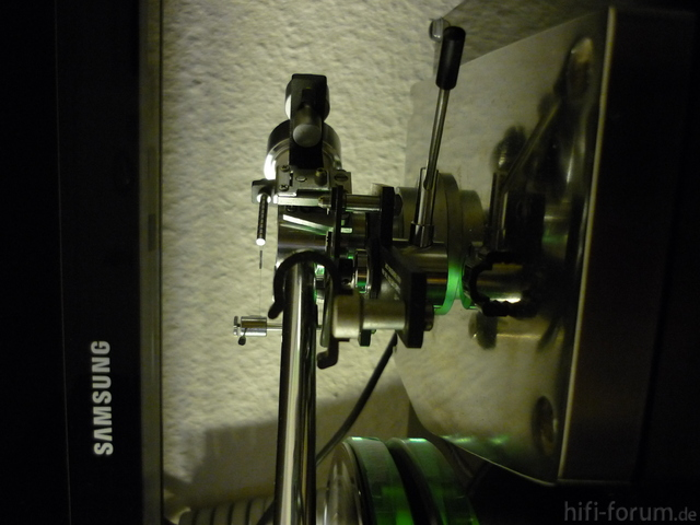 SAEC  W317 Tonarmbasis Aus Edelstahl Handarbeit